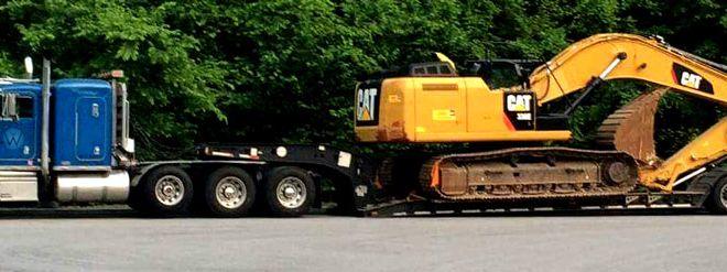 Heavy Equipment Hauler Alabama