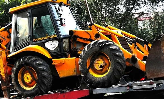 Backhoe Shipping from State to State Get Cheap Quotes