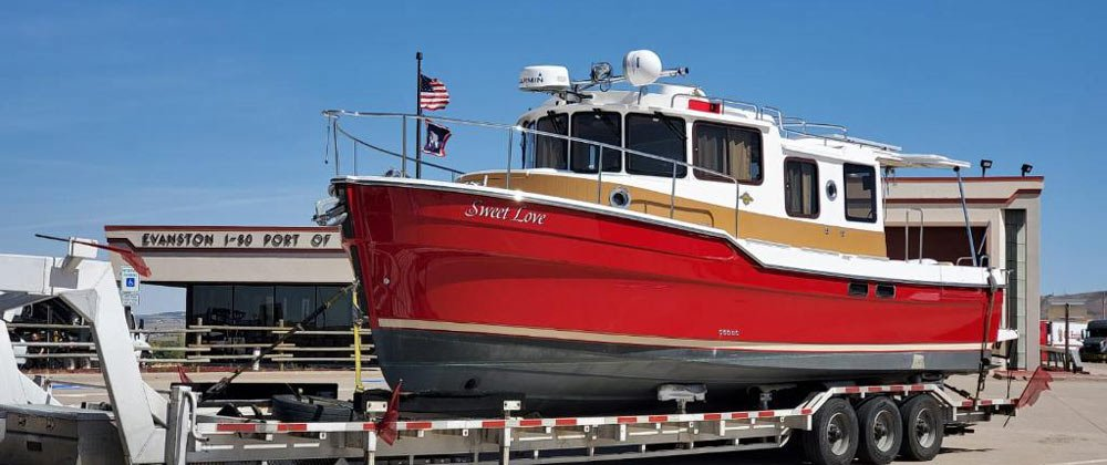 #1 High Tech Boat Transport Maine Company. Maine Boat Shipping Company. We are Maine Boat Haulers