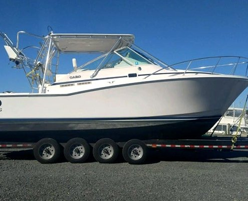 Boat Hauling Florida with the Best Boat Haulers portable office