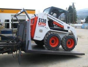 Bobcat Transportation, we will transport it bobcat transportation