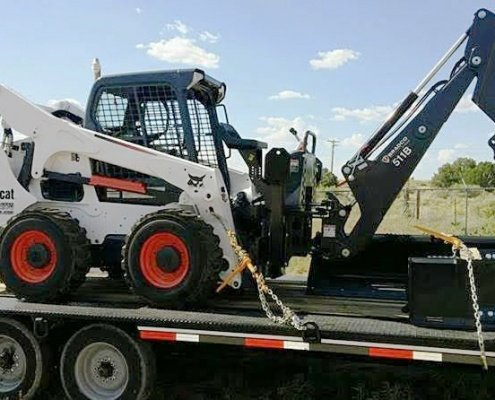 Bobcat Transportation, we will transport it car transport services