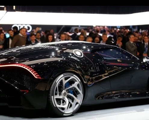 Bugatti La Voiture Noire the Most expensive car ever heavy equipment shipping from ny to pa