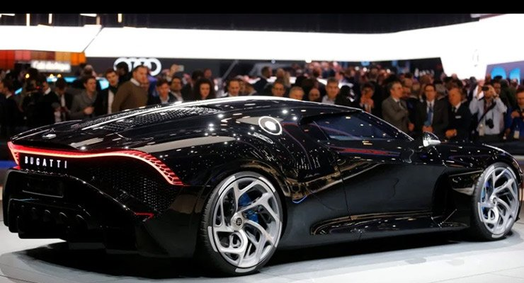 Bugatti La Voiture Noire the Most expensive car ever