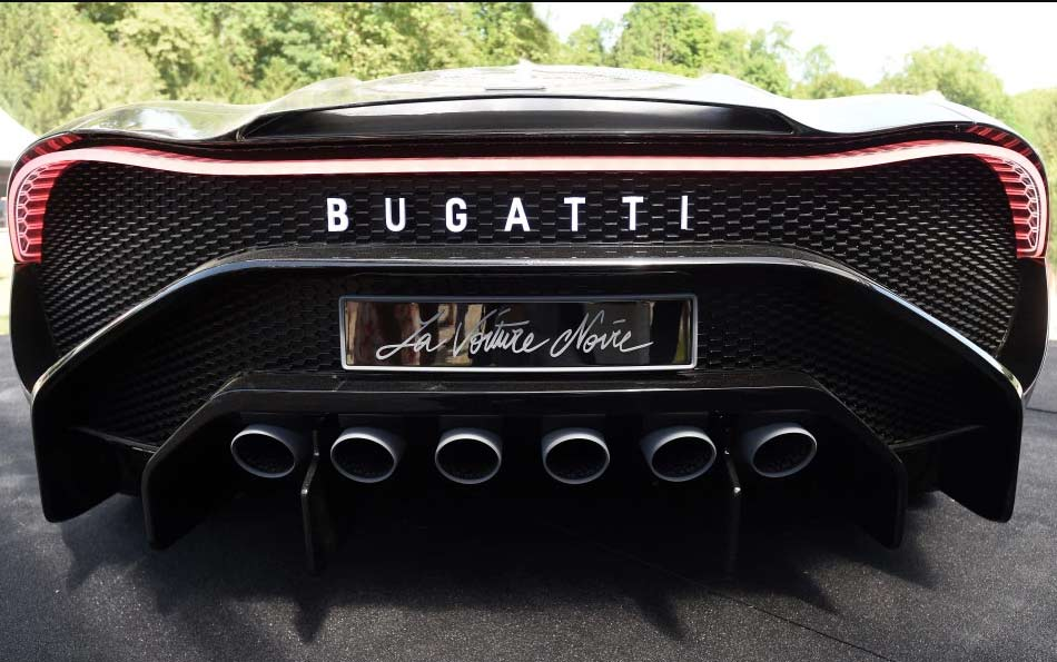 Bugatti La Voiture Noire the Most expensive car ever
