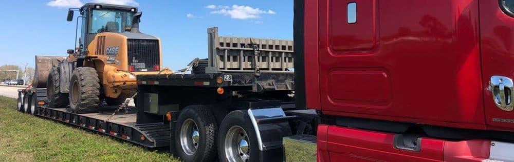 Bulldozer transport, Bulldozer shipping