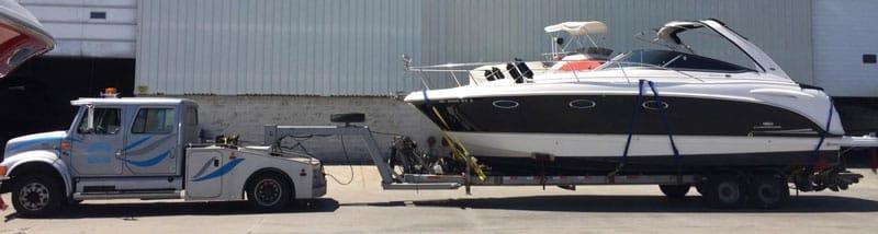 Yacht transport services, Yacht transportation