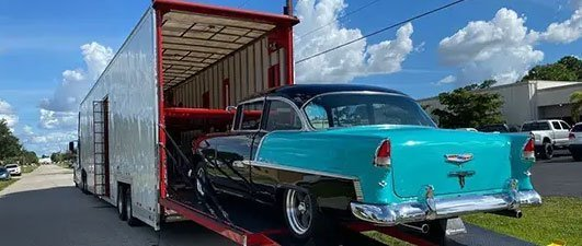 Classic vehicles transported, classic car transport