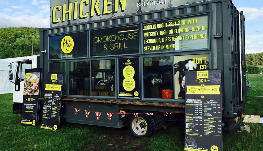 Food Truck Shipping Service