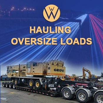 Hauling Oversize Loads, we will transport it, vehicle transport company hauling oversize loads