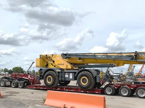 Heavy Equipment Shipping from NY to Ca car shipping