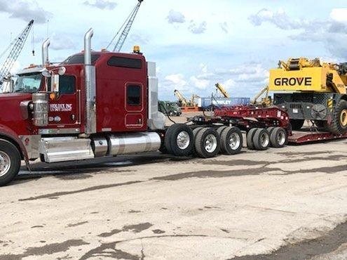 Heavy equipment shipping from NY to FL car shipping