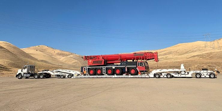 Heavy Equipment Shipping from NY to Illinois