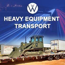 Heavy Equipment Transport, we will transport it