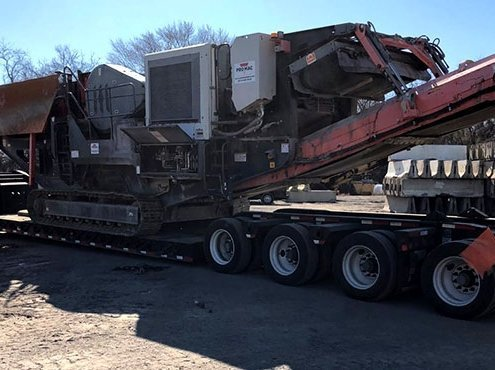 Heavy equipment shipping from NY to OH car shipping