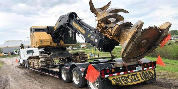 Heavy equipment shipping from NY to PA