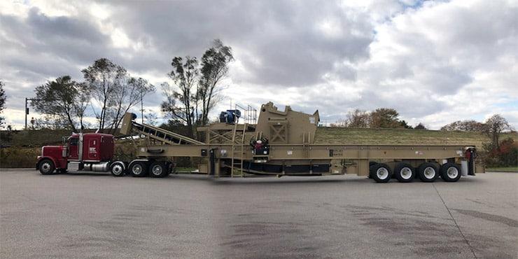 Heavy equipment shipping from NY to TX