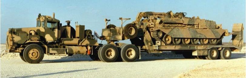 Heavy Equipment Transporter (abbreviated as HET)