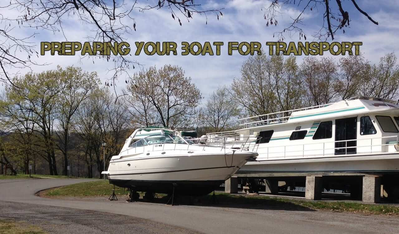 We will transport it, Items You Should Remove When Preparing Your Boat For Transport preparing farm equipment for transport