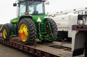 John Deere Tractor Shipping Service, we will transport it