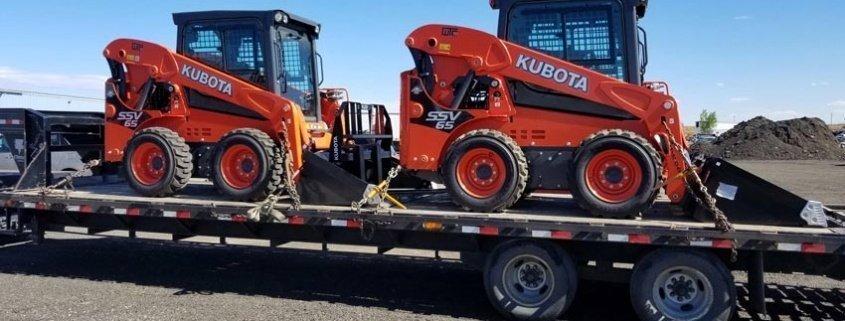 Kubota Transportation, Kubota Construction Equipment Shipping, we will transport it kubota transportation