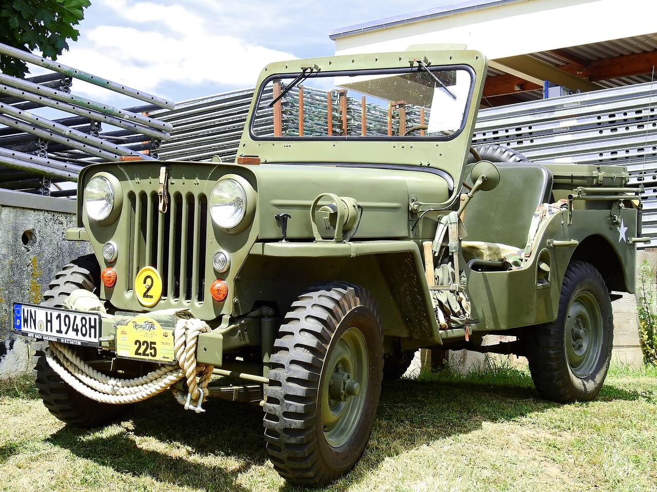 Military Courier Vehicle