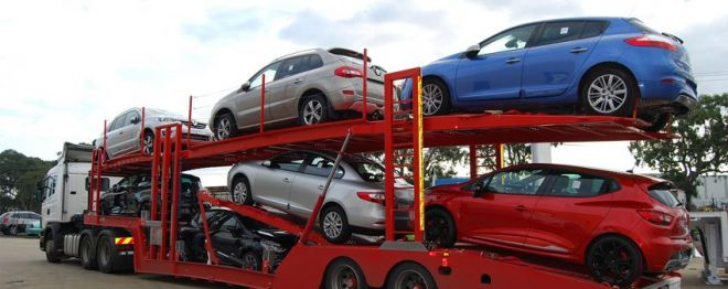 Open car transportation for dealerships and auctions