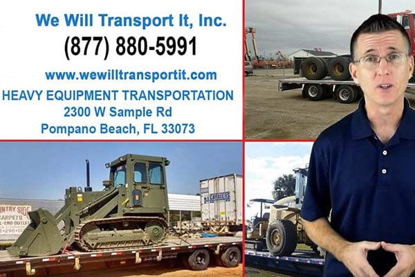WWTI Orlando Heavy Equipment Shipping, Ritchie Brothers Auction in Orlando