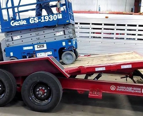 Scissor Lifts Transport Company in Town how much does it cost to ship a car