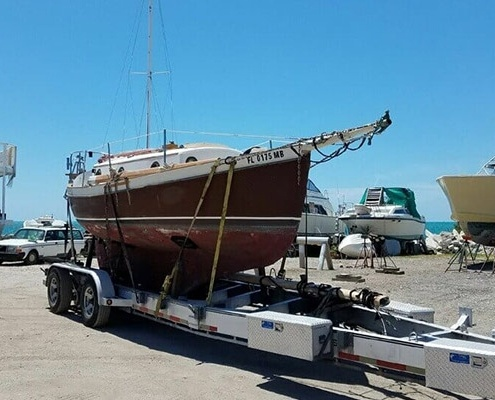 Shipping Boat from Florida to New York WWTI aviation equipment shipping company