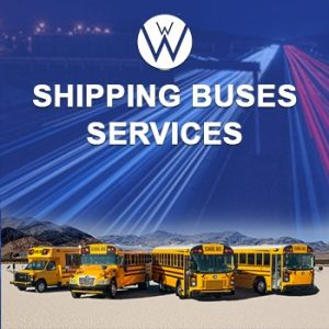 Shipping Buses, we will transport it shipping buses