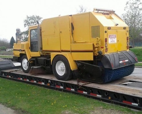 Street Sweeper Truck Transportation, we will transport it expedited auto transportation