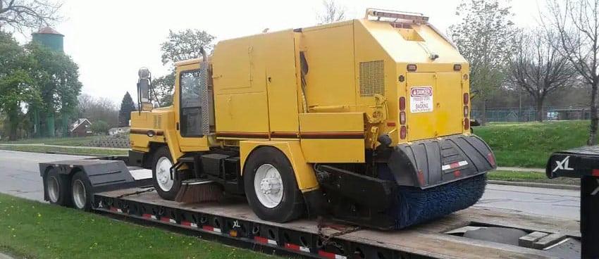 Street Sweeper Truck Transportation