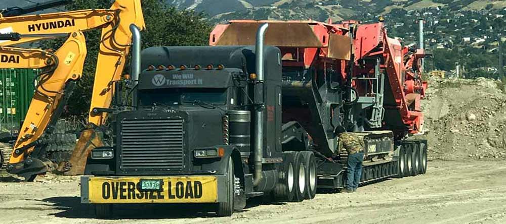 Tennessee Heavy Equipment Transport