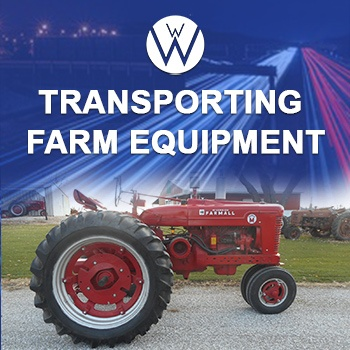 Transporting Farm Equipment, we will transport it transporting farm equipment