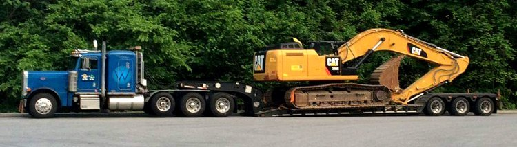 Transporting Heavy Equipment in Florida