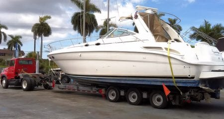 Transporting Your Fishing Boat transporting your fishing boat