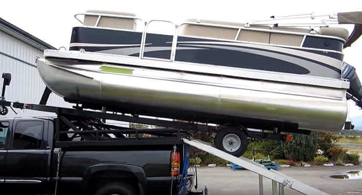 Transporting Your Pontoon Boat transporting your pontoon boat