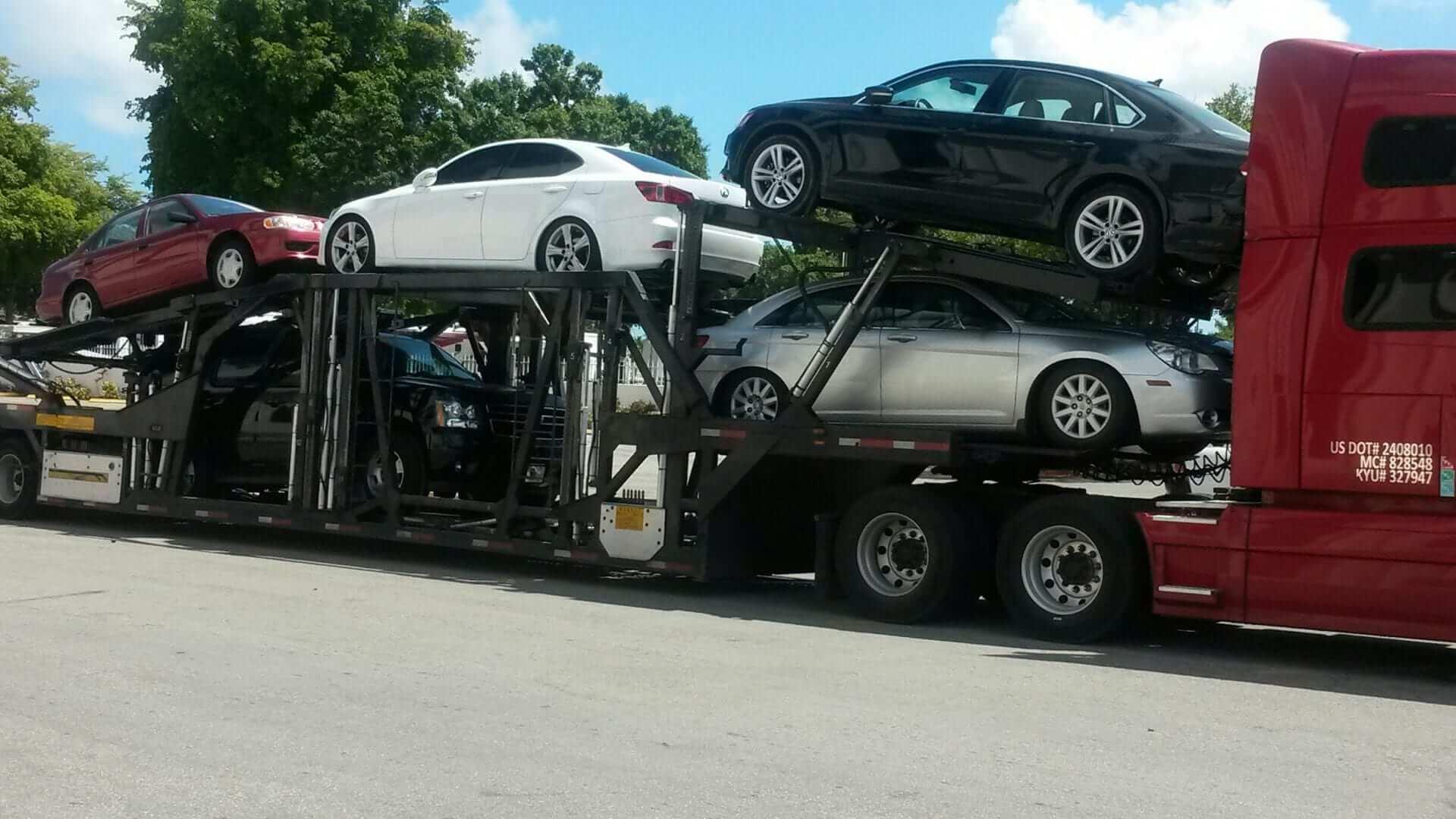 door service transport to vs terminal aa car