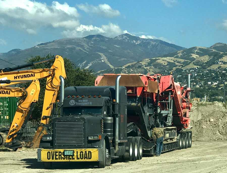 Utah Heavy Equipment Transport utah heavy equipment transport