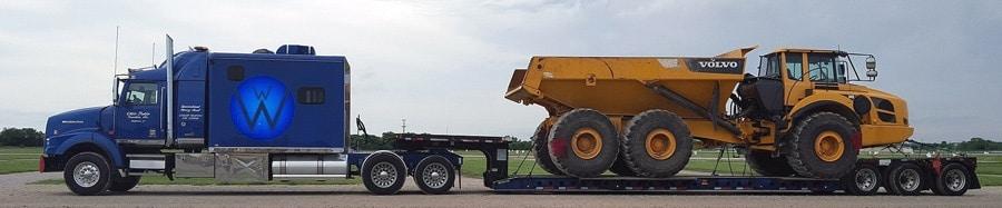 Vermont Heavy Equipment Transport WWTI