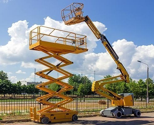 Boom Lifts Transport Service WWTI heavy equipment shipping from ny to pa