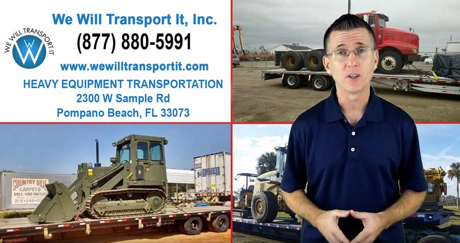 South Carolina Heavy Equipment Transport