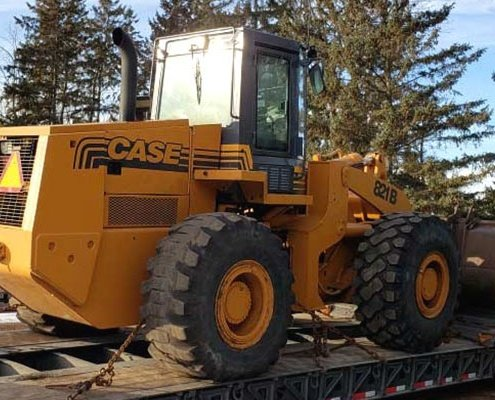 Wheel Loaders Transportation luxury car shipping