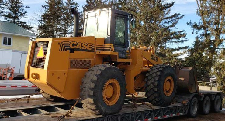 Wheel Loaders Transportation