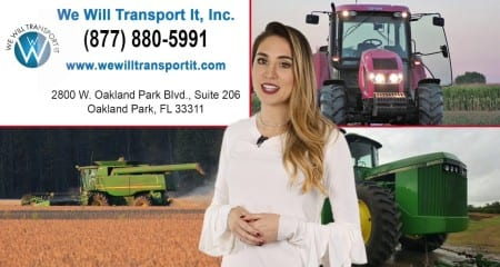 Agricultural Equipment Transport Services