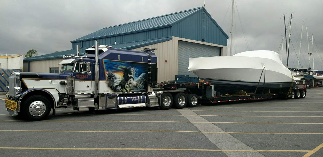 boat transport, yacht transport, we will transport it vehicle transport company