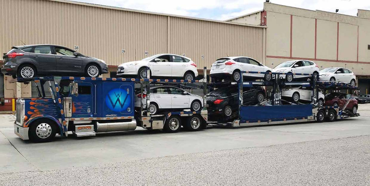 Car shipping service, car transport vehicle transport