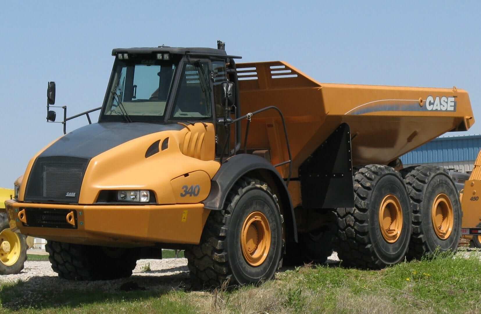 case trucks and equipment