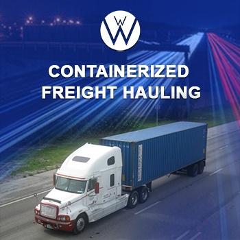Containerized Freight Hauling | Shipping Container Transport